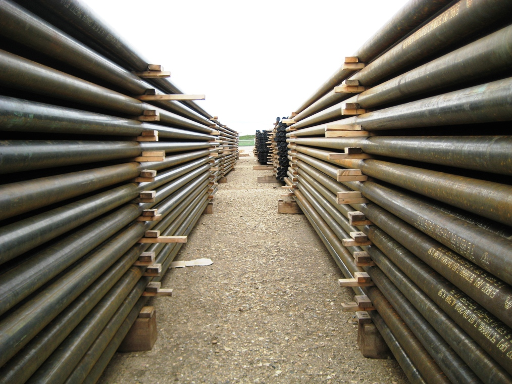 Casing Pipe Storage Amp Delivery Cartel Energy Services