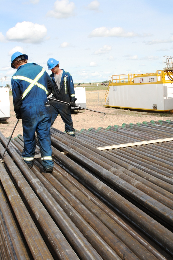Casing Pipe Storage & Delivery - Cartel Energy Services