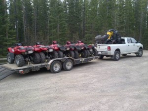 Cartel Quad Trip May 15, 2013 - Quads Loaded
