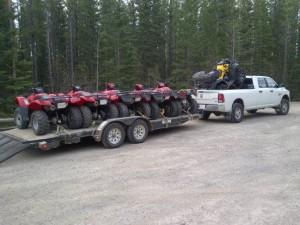 Cartel Quad Trip May 15, 2013 - Quads Loaded
