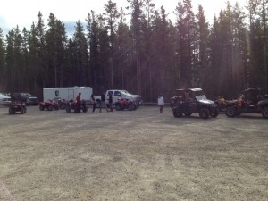 Cartel Quad Trip May 15, 2013 - Getting Ready to Ride!