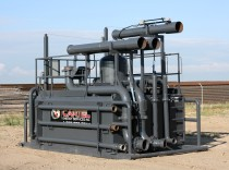 Cartel Energy Services - Rolling Degasser Flare Tank